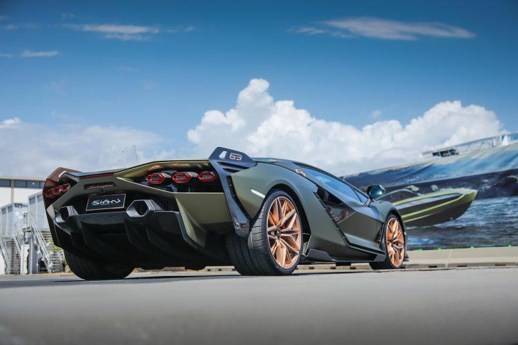 Lamborghini jahta, tecnomar