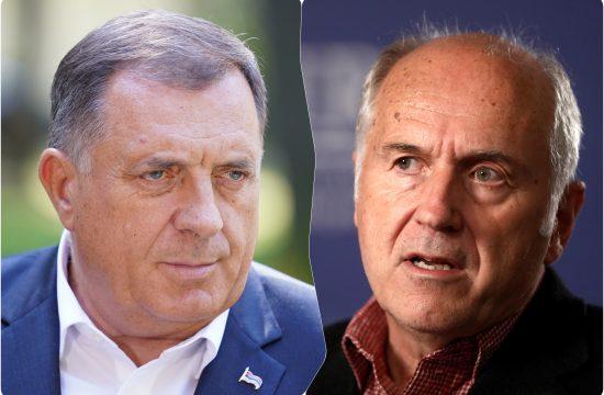 Milorad Dodik i Valentin Inzko