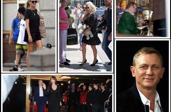 Danijel Krejg Lejdi Gaga Monika Beluci Kevin Spejsi i Dzulija Roberts