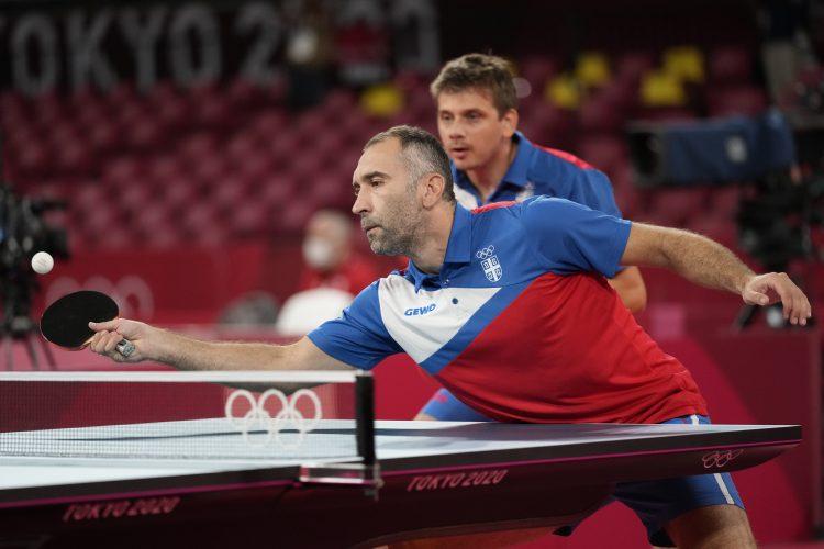 Žolt Pete, Marko Jevtović Stoni tenis Srbija