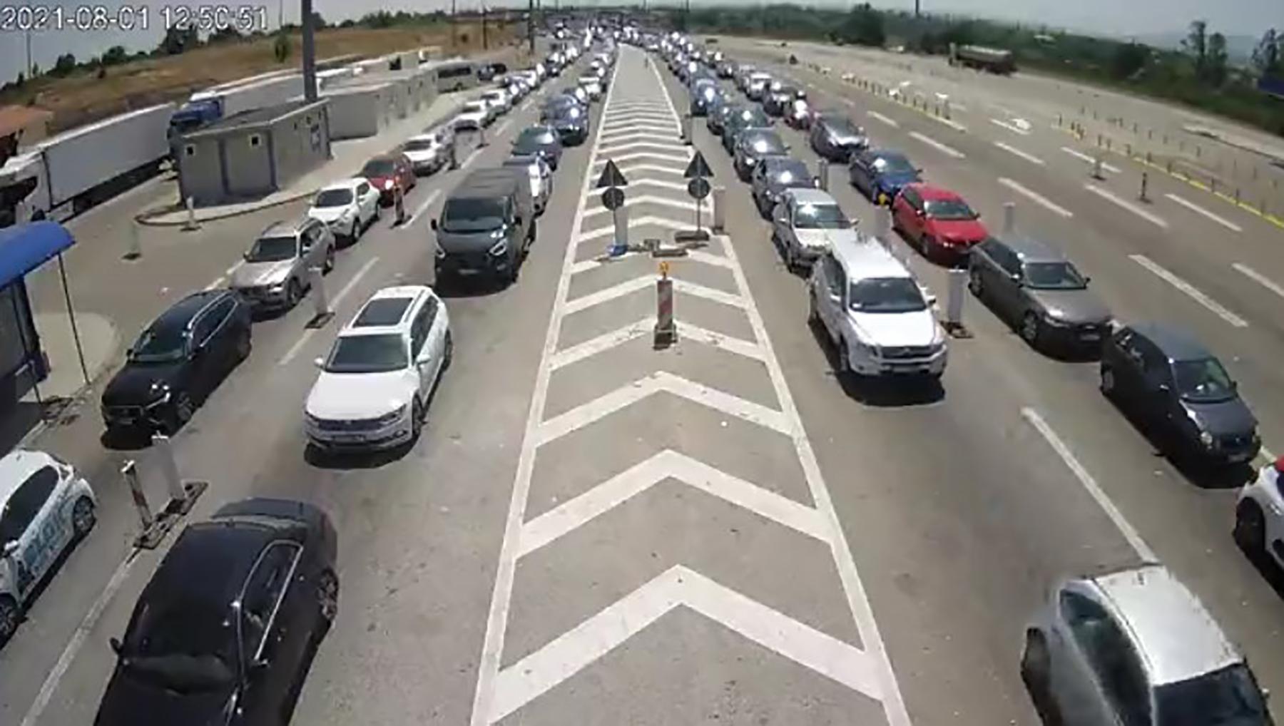 Saobraćajne gužve na graničnim prelazima, granicni prelaz saobracajna guzva