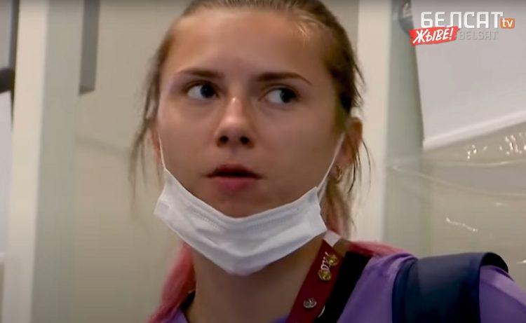 Beloruska atletičarka čeka na aerodromu u Tokiju