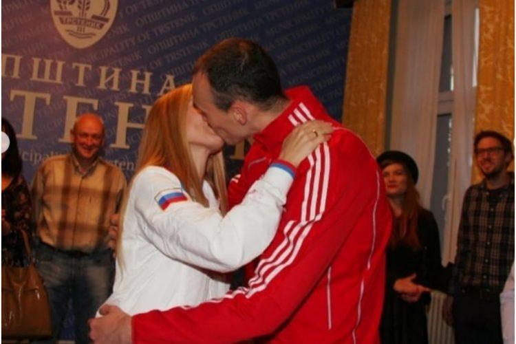 Milenko Sebić i supruga