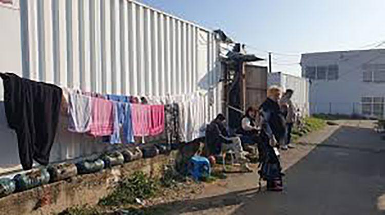 Kontejnersko naselje u Gracanici