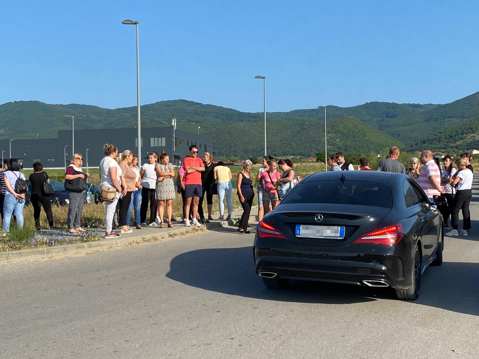 Geox, Vranje, Protest radnika Geoksa