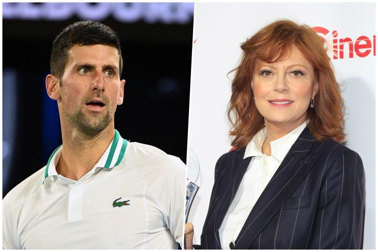 Novak Đoković i Suzan Sarandon