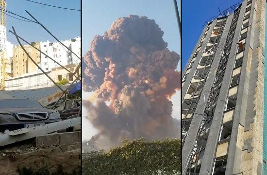 Bejrut eksplozija sećanje
