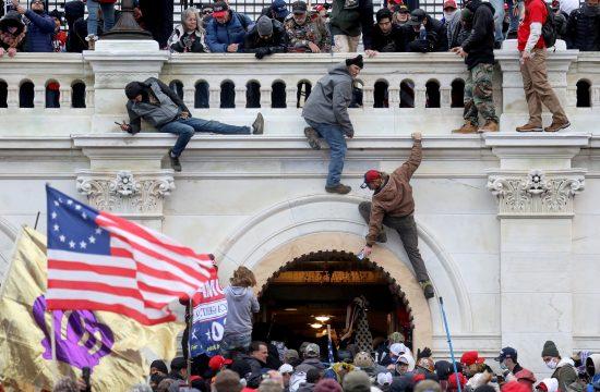 Kapitol, Vašington, Tramp