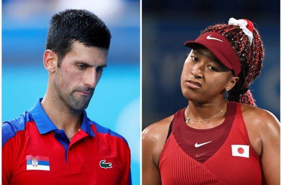 Novak Đoković i Naomi Osaka