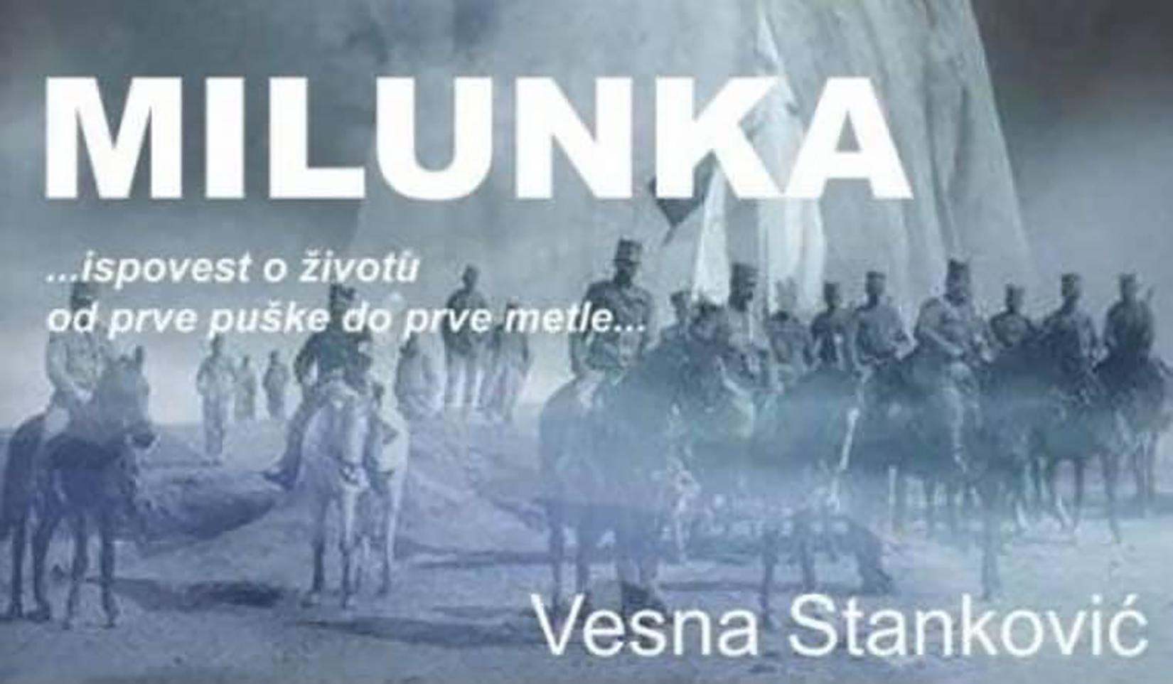 Milunka - poster
