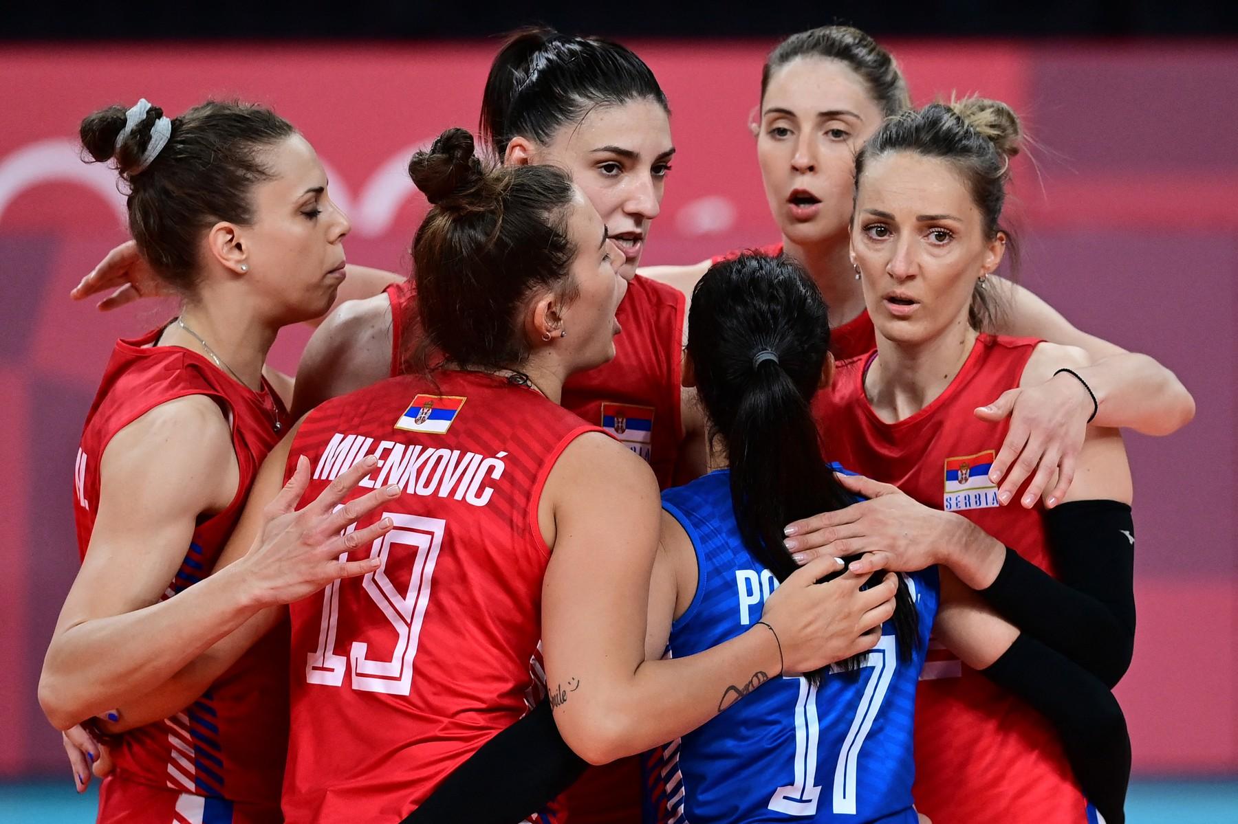 Srbija, Italija, odbojka, žene, odbojkašice, Olimpijada