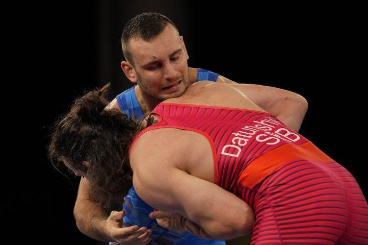 Zurab Datunašvili u borbi za bronzu