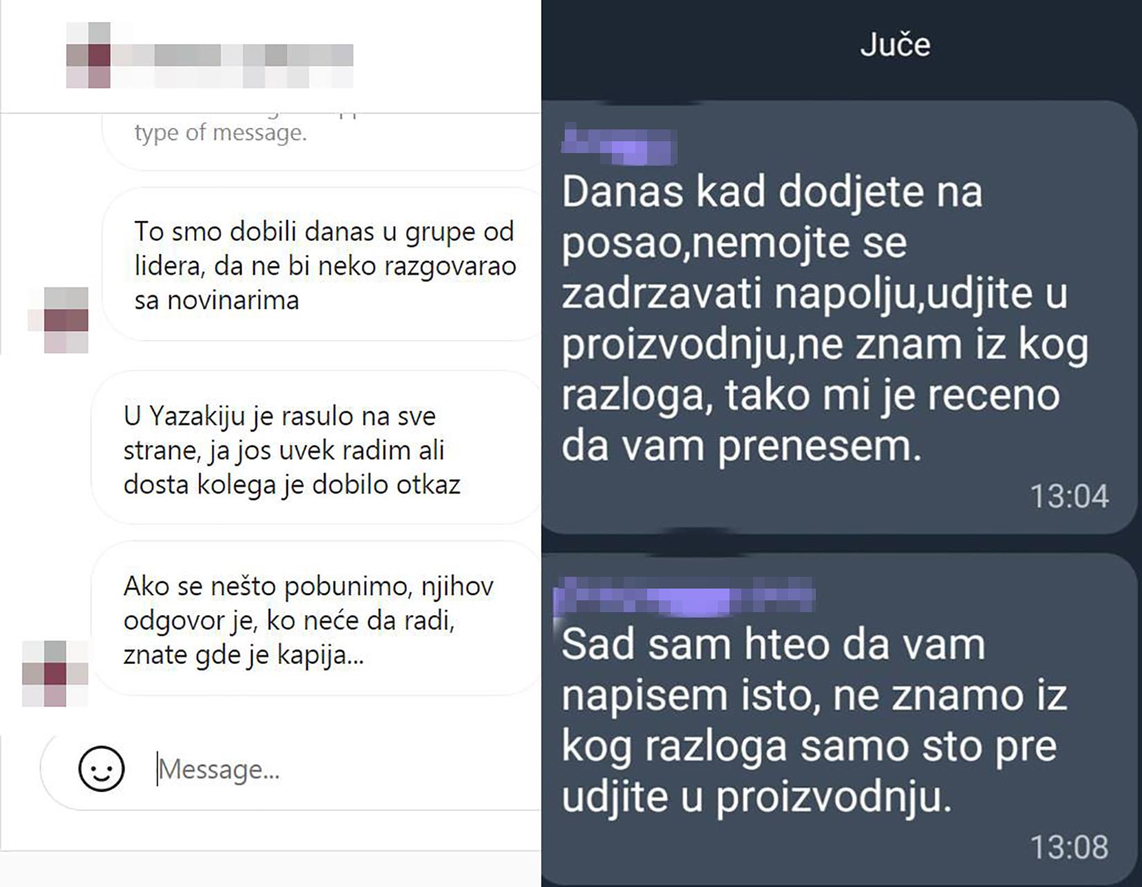 Yazaki, fabrika, radnici, Jazaki Srbija