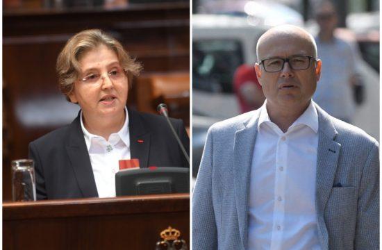 Zagorka Dolovac i Miloš Vučević