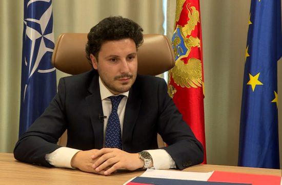 Dritan Abazović intervju