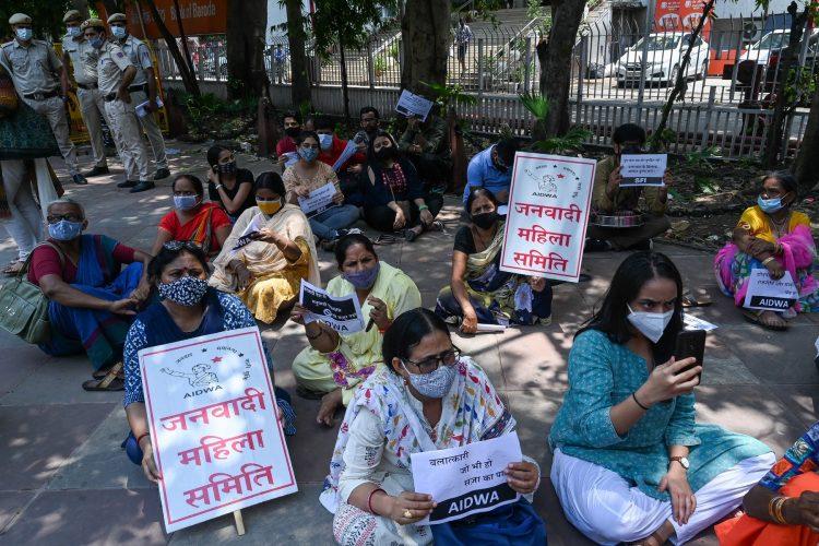 Pakistan, protest, Nju Delhi