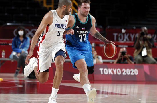 Luka Dončić i Nikolas Batum, Košarkaška reprezentacija Slovenije, Francuske