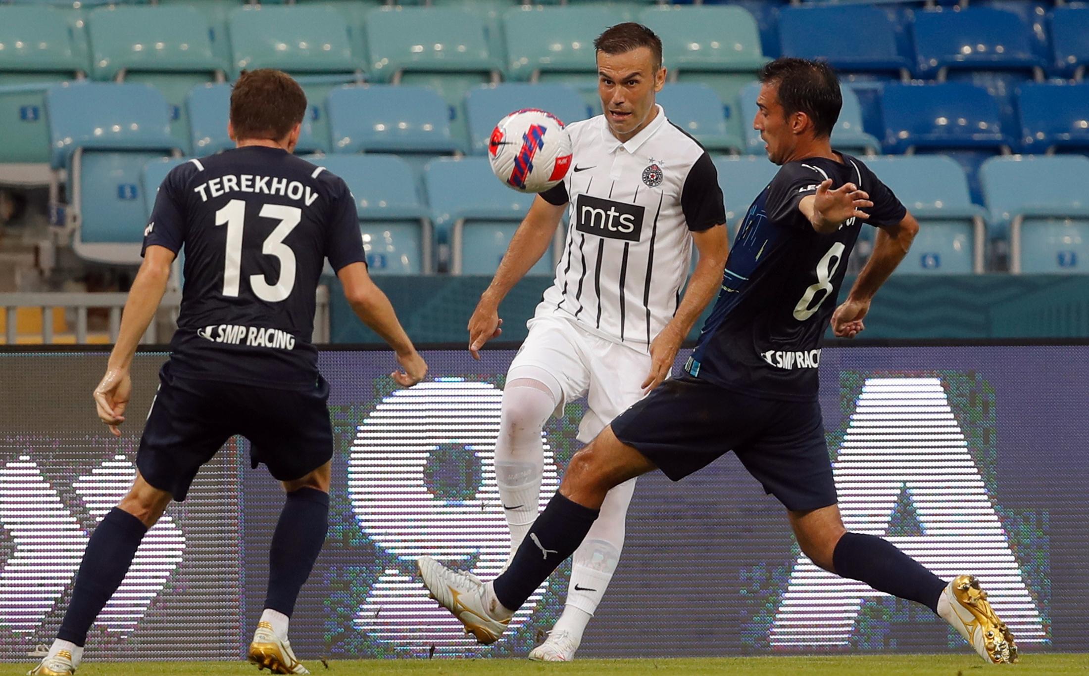 Soči, Partizan, fudbal, utakmica