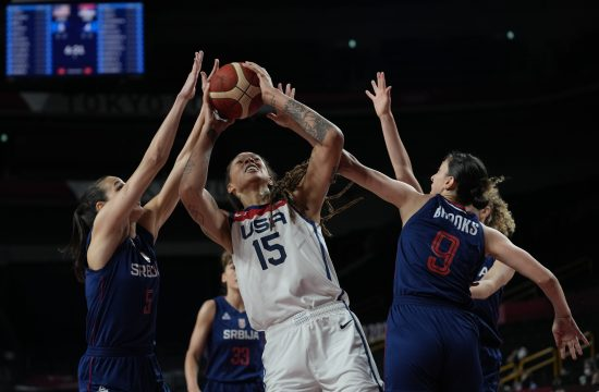 Ženska košarkaška reprezentacija Srbije, SAD