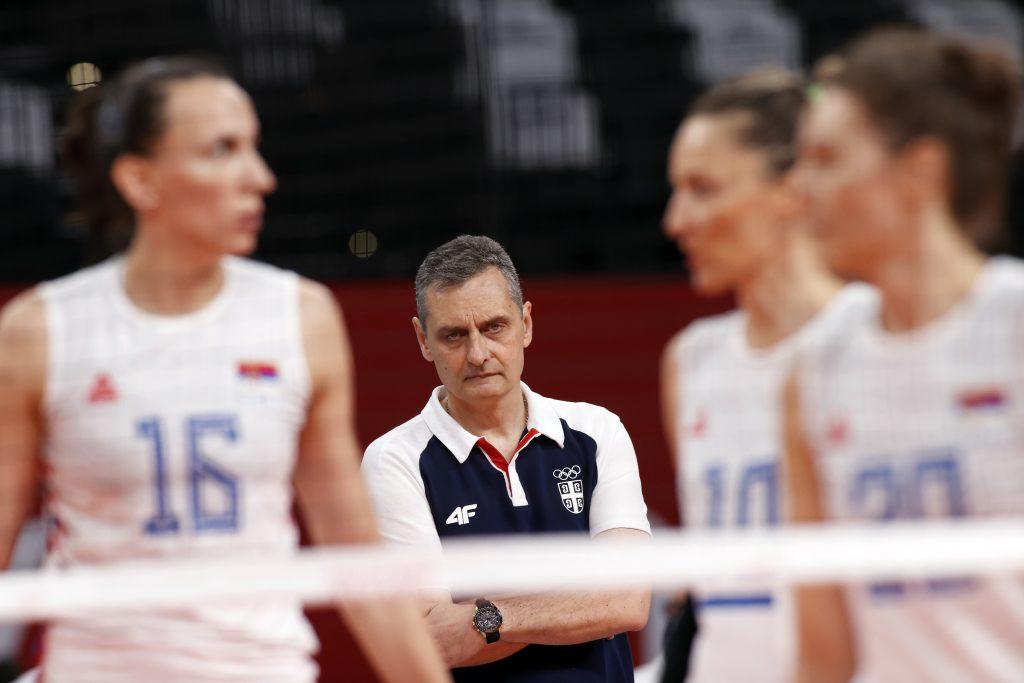 Zoran Terzić, Ženska odbojkaška reprezentacija Srbije
