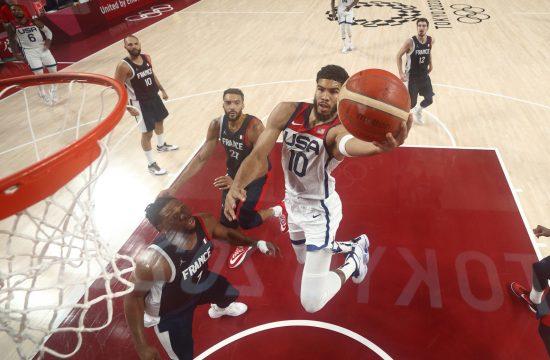 Džejson Tejtum Košarkaška reprezentacija SAD, Francuske