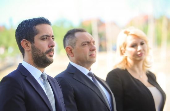 Aleksandar Vulin,Tomislav Momirovic, Darija Kisic Tepavcevic