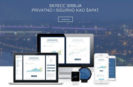 SKY ECC Skaj aplikacija