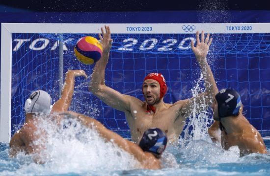 Vaterpolo, Srbija, Grčka, finale, Olimpijske igre