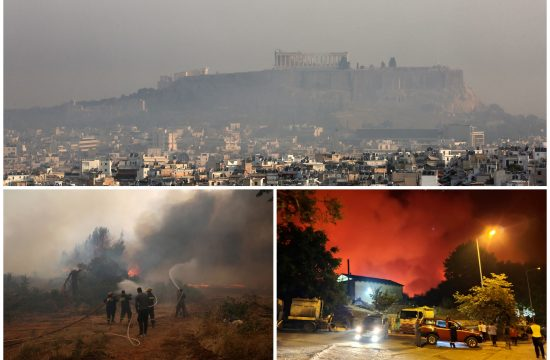 Grčka, požar, požari