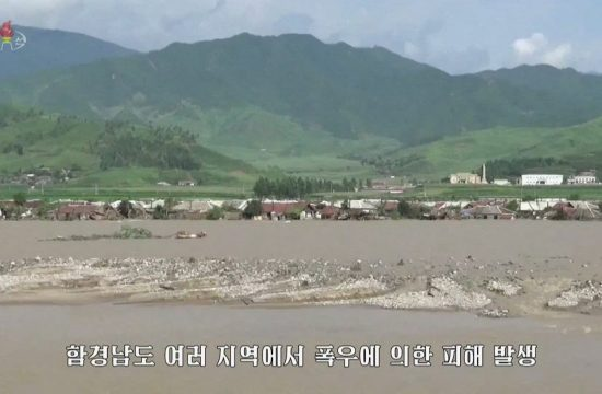 Severna Koreja poplava