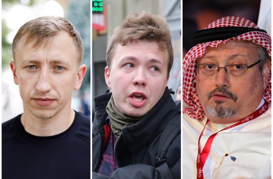 Vitalij Šišov, Roman Protaševič i Džamal Kašogi