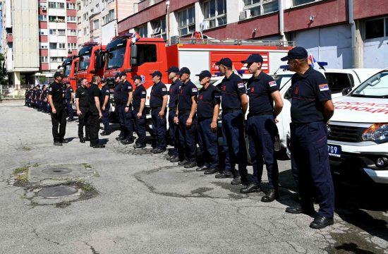 Vatrogasci krenuli u Grcku