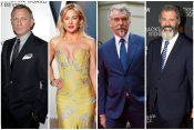 Danijel Krejg, Kejt Hadson, Pirs Brosnan i Mel Gibson
