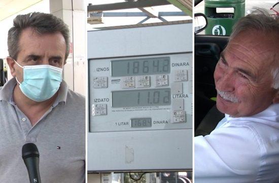 poskupljenje goriva u Srbiji