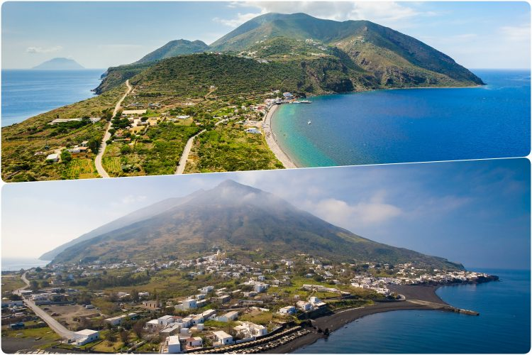 Italijanska ostrva Stromboli i Filicudi