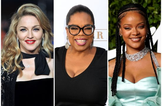 Madona, Madonna, Opra Vinfri, Oprah Winfrey, Rijana, Rihanna