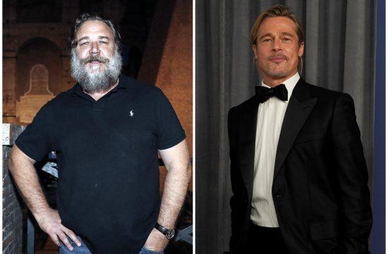 Rasel Krou, Russell Crowe i Bred Pit, Brad Pitt