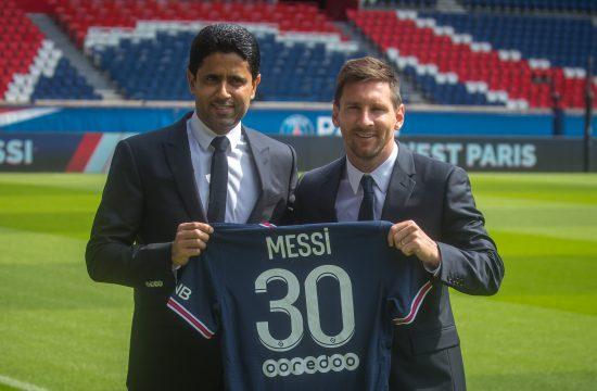 Lionel Mesi i Naser Al-Kelalifi