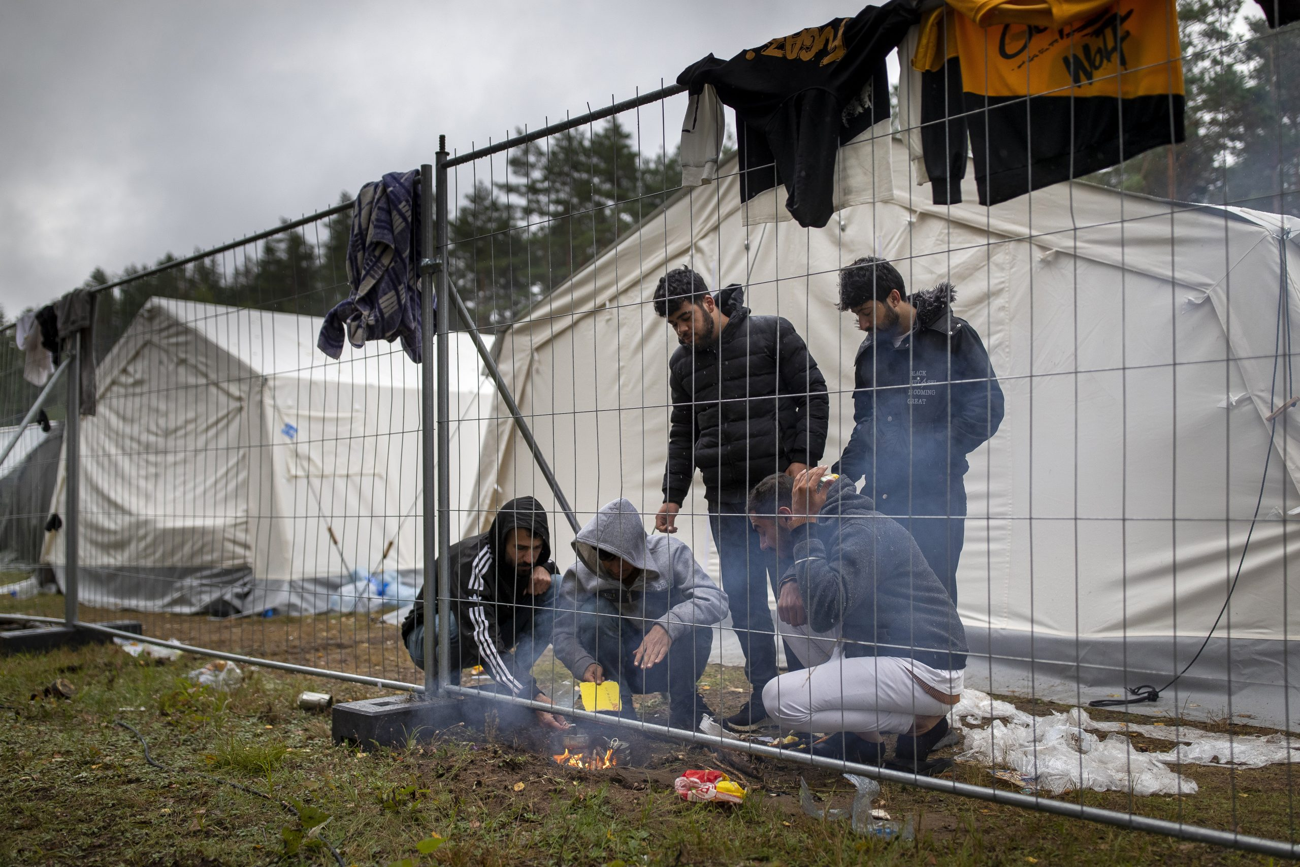Litvanija, migranti, Belorusija