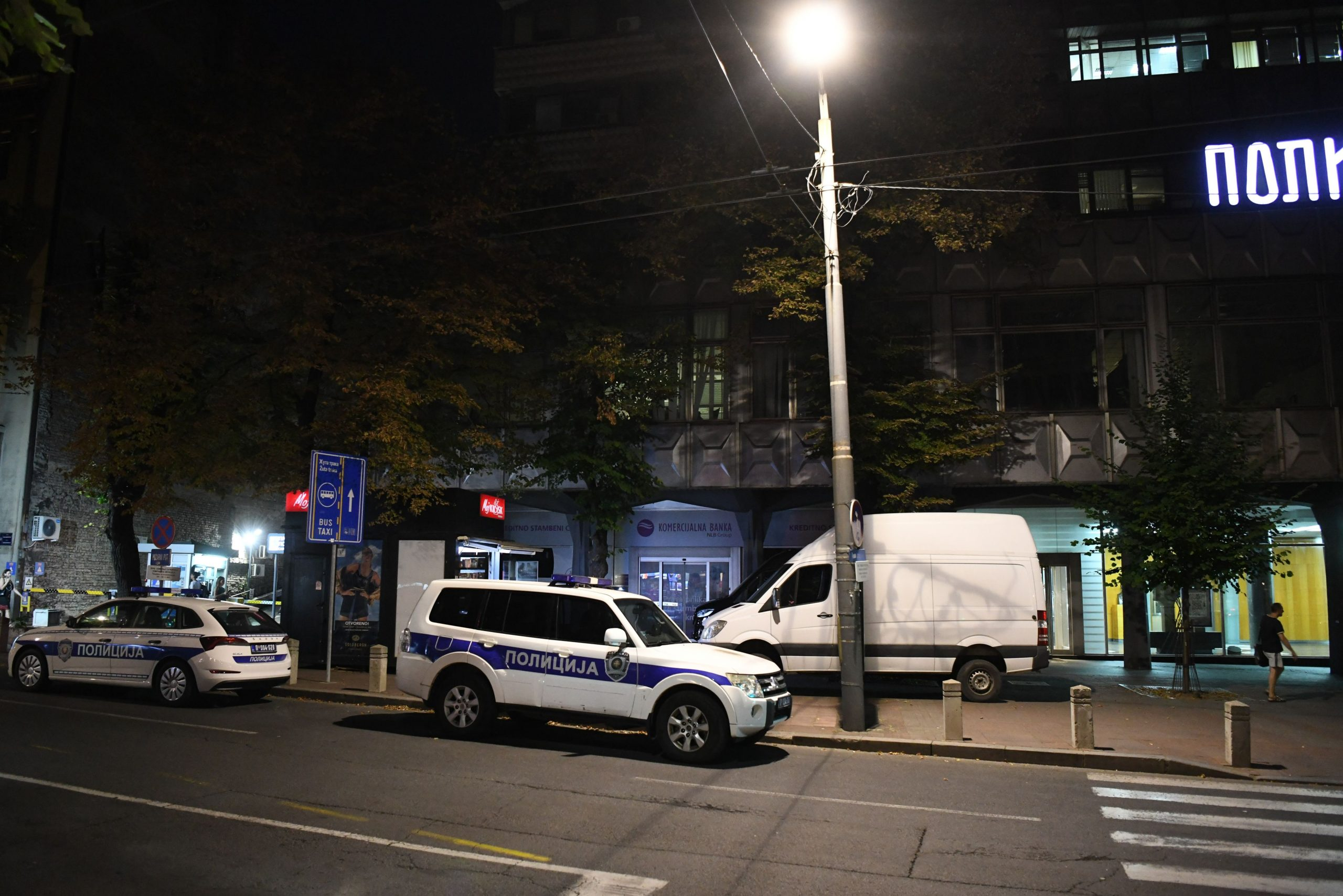 Kosovska, zgrada Politike, Politika, policija, forenzika