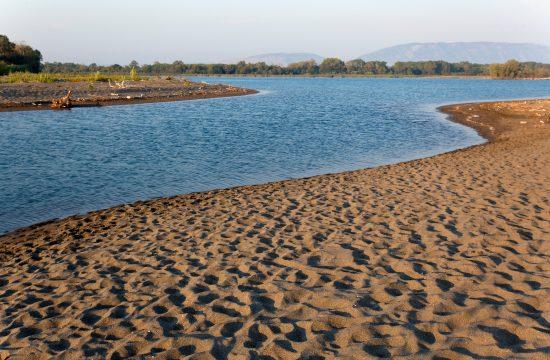 Reka Bojana, ušće, Ulcinj