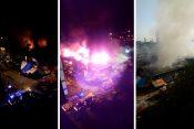 Požar kineski tržni centar kako je sve počelo