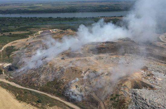Snimci dronom deponija Vinča