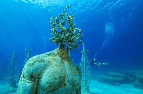 podvodni muzej kipar