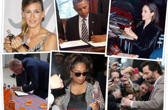Sara Dzesika Parker Barak Obama Andjelina Dzoli princ Vilijam Opra Vinfri i Kijanu Rivs
