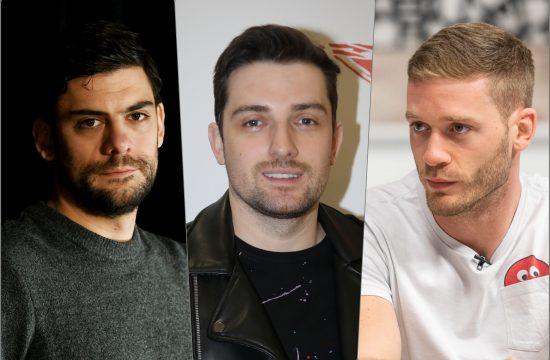 Milan Maric, Mirza Selimovic i Aleksandar Radojicic
