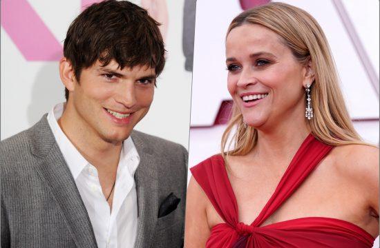 Reese Witherspoon Ashton Kutcher Eston Kucer i Riz Viterspun