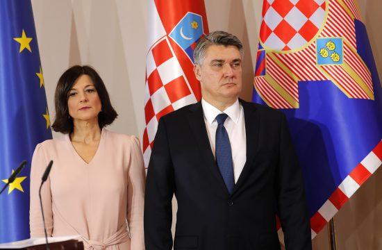 Zoran Milanović, Sanja Milanović, ostrvo Hvar, državna rezidencija Kovač, vila, odmor