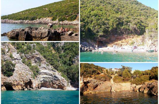 Divlje plaže, Crna Gora