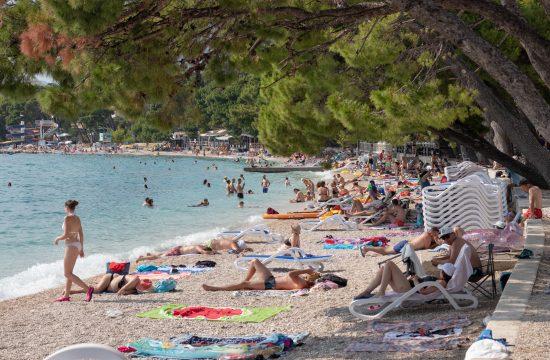 Hrvatska, Makarska, plaža, more